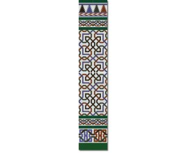 Arabian wall tiles ref. 510V Height 58.27 In.