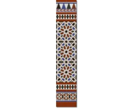 Arabian wall tiles ref. 540M Height 58.27 In.