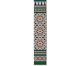 Arabian wall tiles ref. 540V Height 58.27 In.