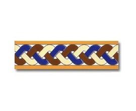 Azulejo cenefa C136