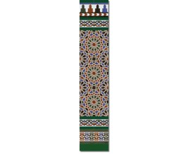 Arabian wall tiles ref. 560V Height 58.27 In.