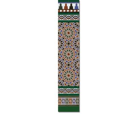 Arabian wall tiles ref. 560V Height 58.27 In.