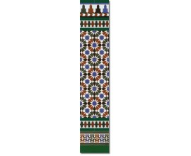 Arabian wall tiles ref. 570V Height 58.27 In.
