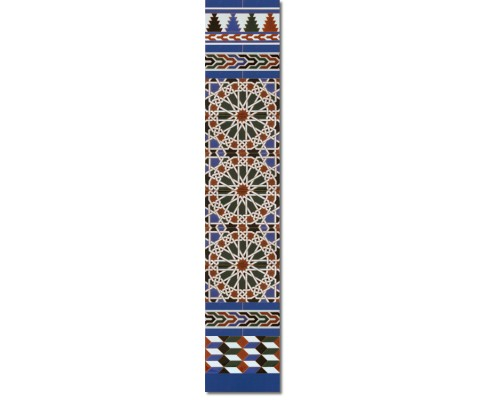 Zócalo Árabe mod.550A - Altura 148cm.