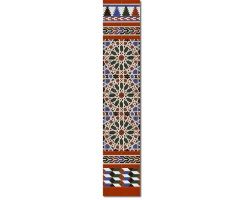 Arabian wall tiles ref. 550M Height 58.27 In.