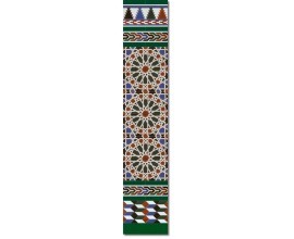 Arabian wall tiles ref. 550V Height 58.27 In.