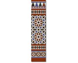 Zócalo Árabe mod.540M - Altura 120cm.