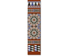 Arabian wall tiles ref. 550M Height 47.24 In.