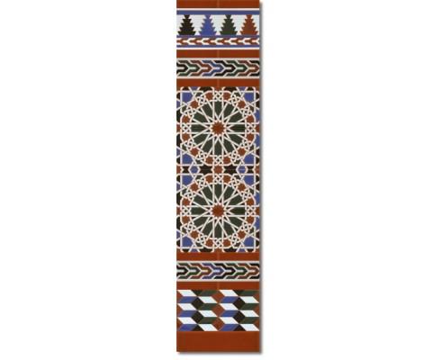 Arabian wall tiles ref. 550M Height 47.24 In.