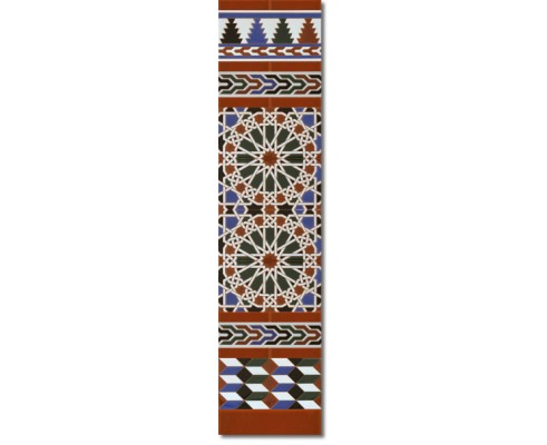 Zócalo Árabe mod.550M - Altura 120cm.