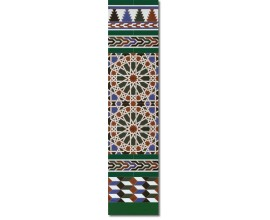 Arabian wall tiles ref. 550V Height 47.24 In.