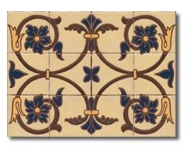 Mural de azulejos modelo CS8031
