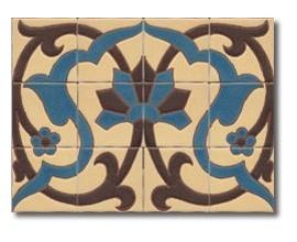 Mural de azulejos modelo CS8072