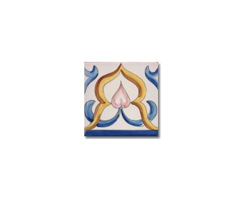 Azulejo pincelado cenefa SV2071