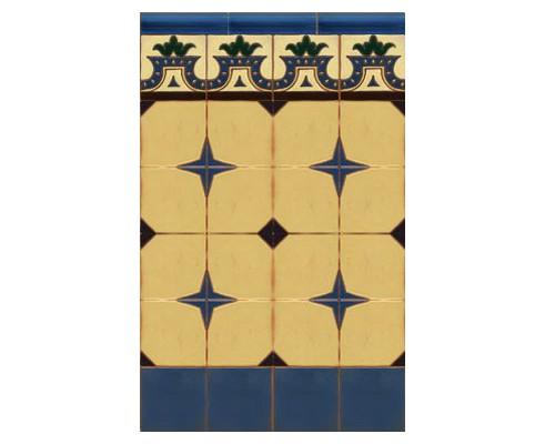 Zócalo Rústico mod.8554A - Altura 95 cm.