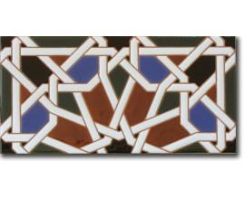 Azulejo árabe fondo F540