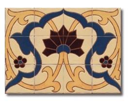 Mural de azulejos modelo CS8071